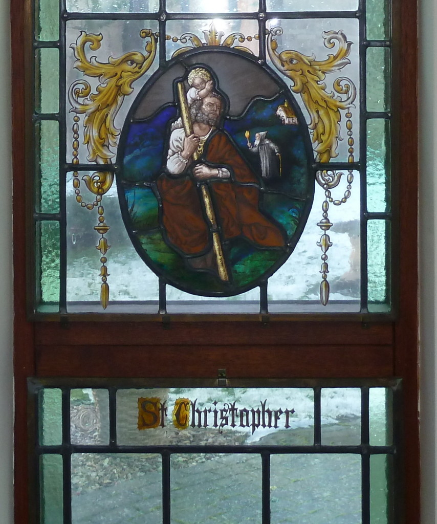 St Christopher's Chapel 1 Stained Glass P1020164