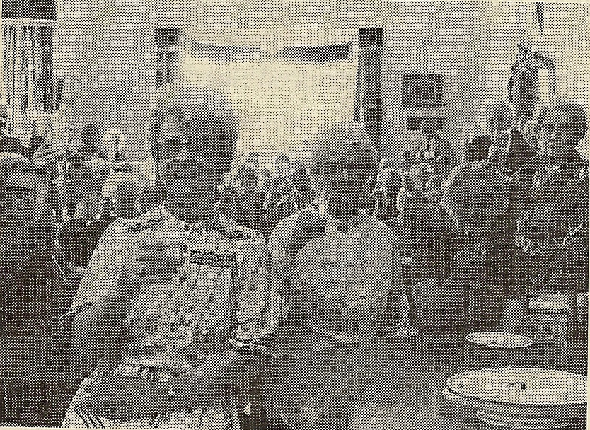 0125 Mrs Watker Matron, Retirement - July 1981